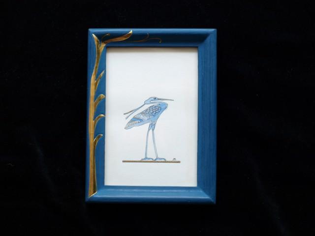 Blauer Storch