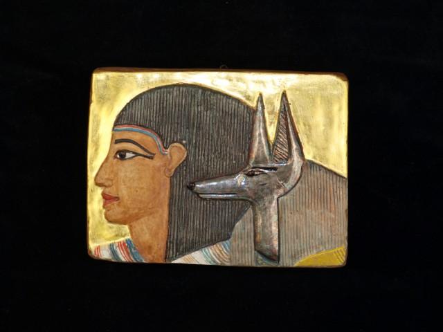 Schakalköpfiger Totengott Anubis
