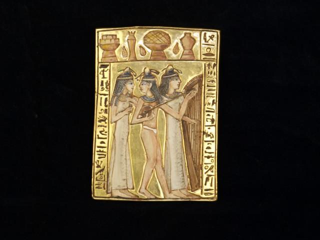 Frauen des Königshofs Tutanchamun