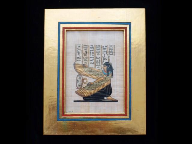 Ägyptische Federgöttin